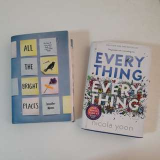 WTS Book clearance! All the bright places and Everything, everything