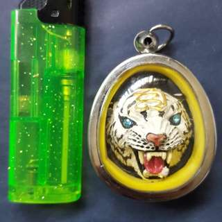 LP Pern is famous for making tiger head amulets.