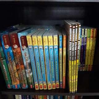 WTS Geronimo Stilton series books