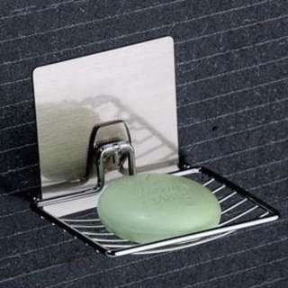 Bathroom soap holder (Nail-less)
