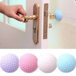 4 PIECES Door stopper, Wall anti-collision pad, protective pad, rubber shock pad, thick / solid