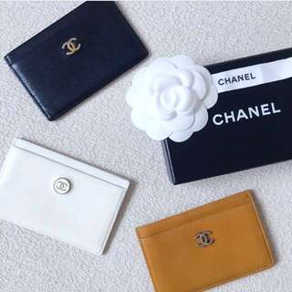 AUTHENTIC CHANEL Card Holder / Case