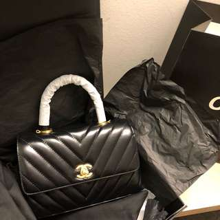 Chanel Coco Handle Mini Black