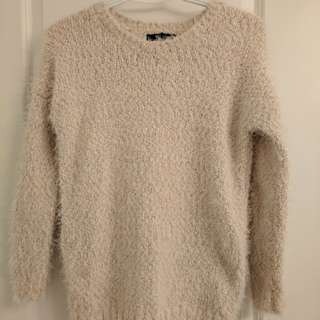 Soft and fuzzy sweater