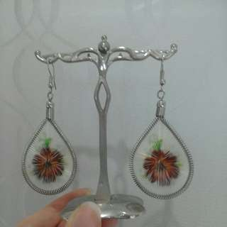 Boho hippy dangling earrings