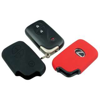 Lexus Car Remote Silicon Skin Cover (Black & Red)
