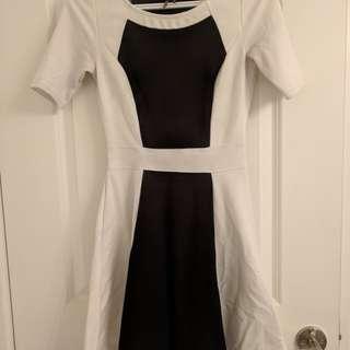 Dynamite colorblock dress