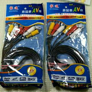 J5 audio video cable 3m