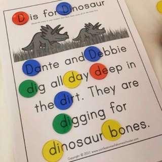 100 Round Transparent Counters *Montessori*