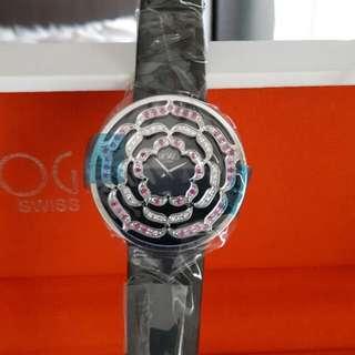 全新瑞士HOGA鑽石手錶