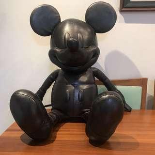 全球限量-Coach*Disney 米奇皮革玩偶
