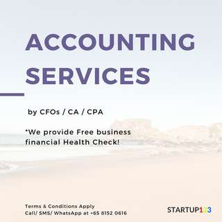 Accounting service for SME & START UP