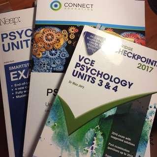VCE Psychology Books