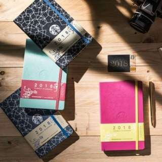 Starbucks 2018 Planner by Moleskine Singapore Edition