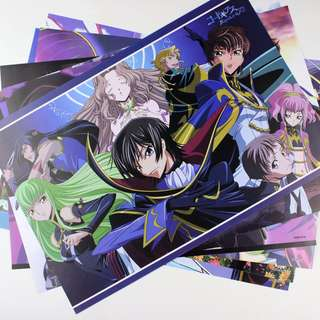 Code Geass ANIME POSTERS [ON-HAND]