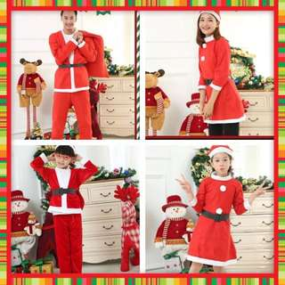 IN STOCK Christmas Costume Santa Claus Costume Santarina Costume Christmas clothes party