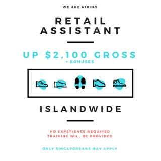 Retail Sales Assistant (US MNC / Footwear)