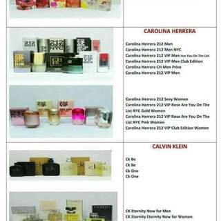 Authentic Perfumes for Men & Women