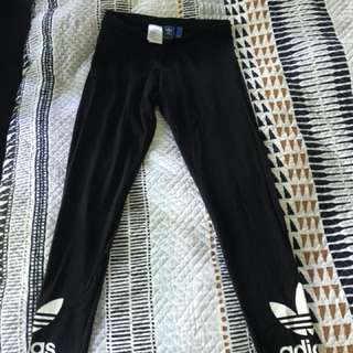 Adidas full length leggings Size 12
