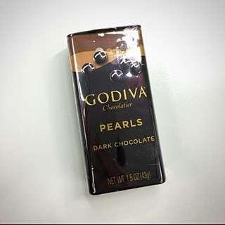 《全新》Godiva黑巧克力豆