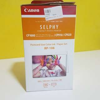 Canon Selphy Photopaper