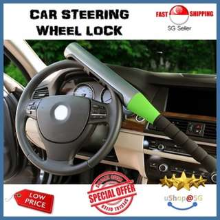 ★[NEW] SALE★ Universal Car Steering Wheel Lock : Deter car theft | Peace of Mind: Baseball Car Lock
