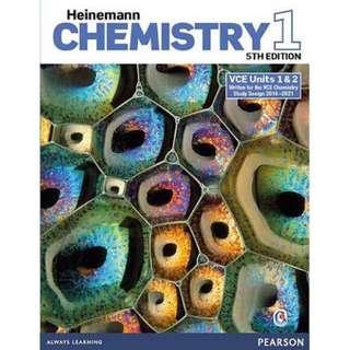VCE Chemistry PDF Units 1 & 2