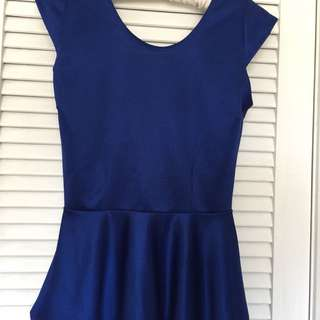 Blouse - navy blue size S