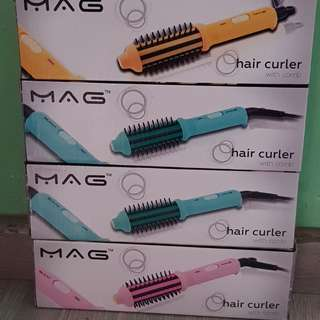 Mini Hair Straightner and Hair Curler