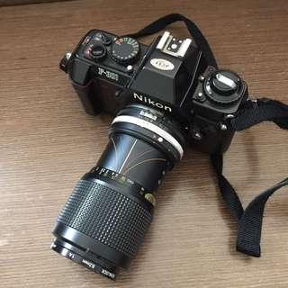 80年代 菲林相機 Nikon F-301
