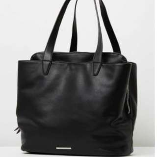 Tony Bianco Sashay Black Bag