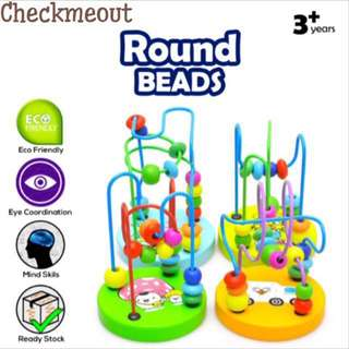 🌈READY STOCK🌈Mini Round Beads Educational Toys