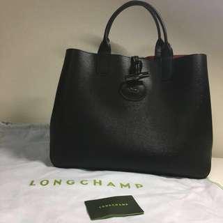 LONGCHAMP Roseau Leather Tote