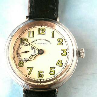 VINTAGES WEST END MILITARY TRENCH WATCH