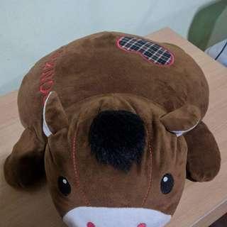 Donkey Stuffed Pillow Animal