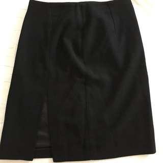 合身開叉窄裙