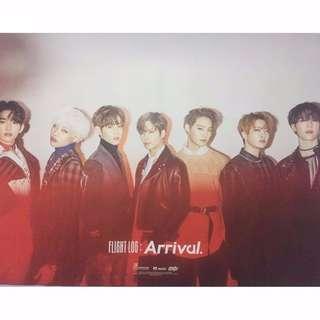 GOT7 Official Flight Log Arrival Posters