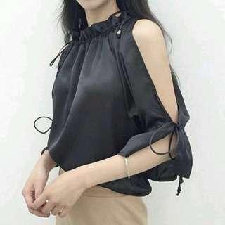 Baju / atasan / blouse / putih import murah