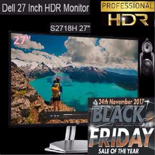 """Dell S2718H 27"""" HDR Monitor. (BlackFriday Offer till 8 Dec 17..Ends..)"""