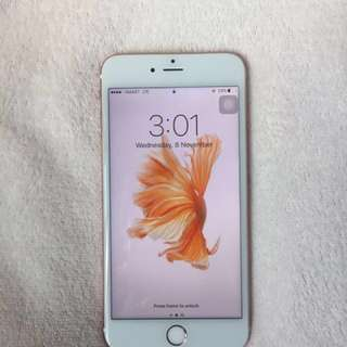 iPhone 6s Plus Rose Gold (64gb)