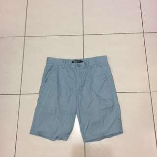 🚚 HangTen 淺藍短褲 32腰
