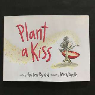 💥NEW - Best Selling - Plant a Kiss (Hard Cover) - Amy Krouse Rosenthal- Story book