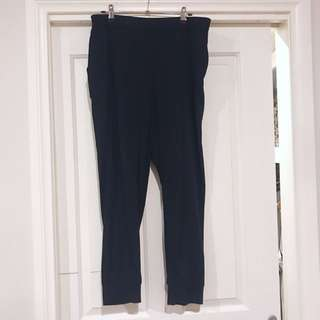 Size 12 cuffed pant with elastic waist