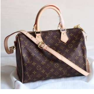 LV Speedy 30 Monogram Canvas/ Authentic >>> PLEASE READ Bio and Product details carefully