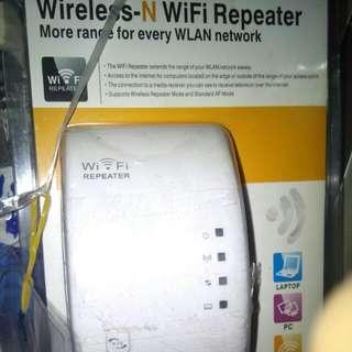 Wifi repeater 無線上網加強器