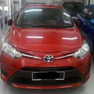 2017 New Toyota Vios 1.5J(A)
