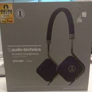 Audio-technica ATH-UN1 Portable Headphones
