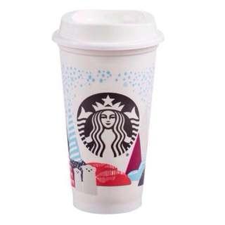 耶誕 星巴克2016Kermit耶誕隨行杯 Starbucks