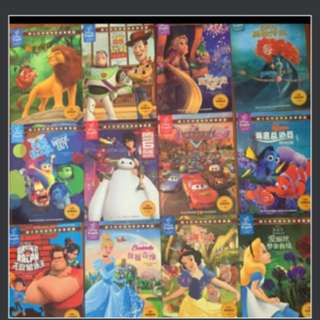 BN Disney Bilingual story books x 12 with delivery