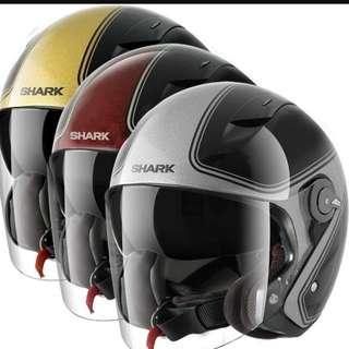 (FREE DELIVERY ISLANWIDE) Shark RSJ Sassy Helmet